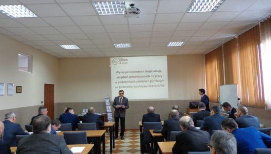 Spotkanie techniczne z zakresu promowania bezpieczeństwa i higieny pracy w przemyśle górniczym